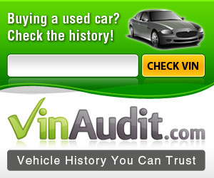 Obtain a VIN report for your vehicle